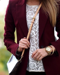 Burgundy Women's Clothing