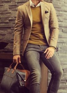 Men's Mustard Clothing